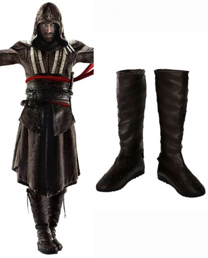 Callum Lynch & Aguilar Assassin's Creed Shoes Cosplay Boots
