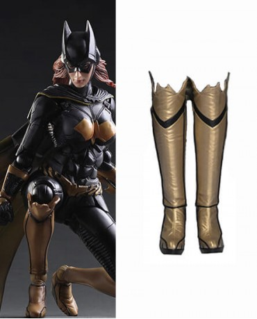 Batman Arkham Knight Batgirl Shoes Cosplay Boots