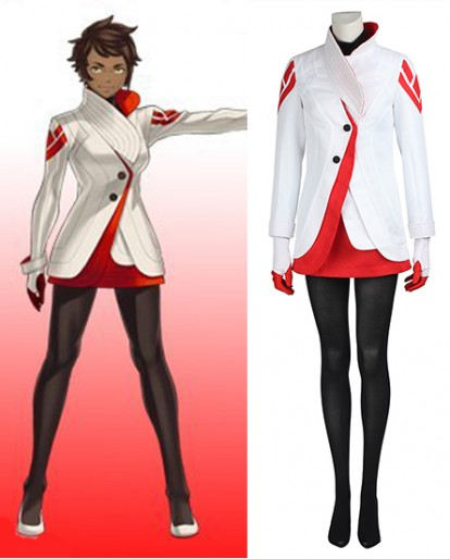 Candela Pokemon Go Cosplay Costume