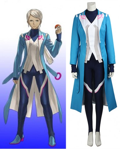 Blanche Pokemon Go Cosplay Costume - Movie Quality Costume