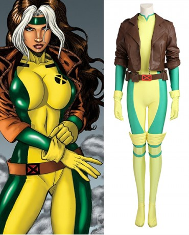 Rogue X Men Cosplay Costume