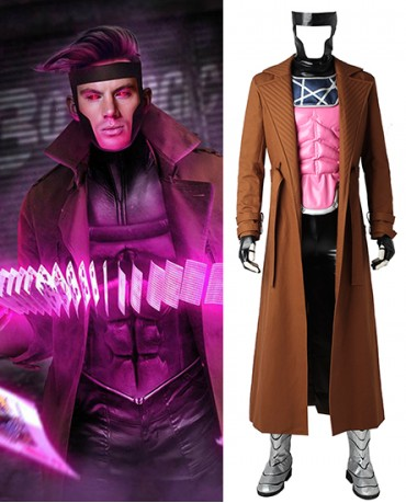 X Men Gambit Cosplay Costume