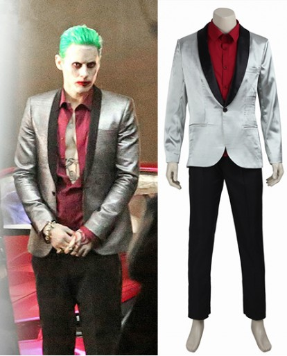 Joker Suicide Squad/Task Force X Cosplay Costume