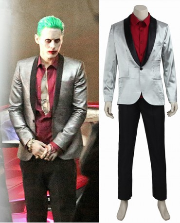Suicide Squad/Task Force X Joker Cosplay Costume
