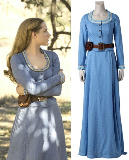 Dolores Abernathy Westworld Cosplay Costume