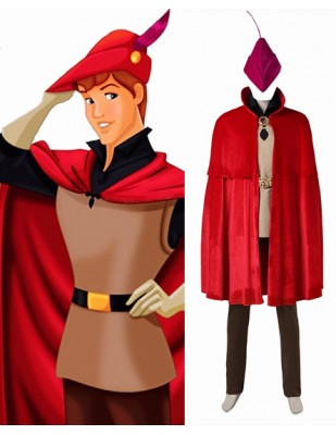 Prince Phillip Sleeping Beauty Princess Aurora Cosplay Costume