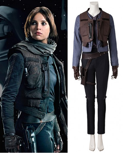 Jyn Erso Rogue One A Star Wars Story Cosplay Costume