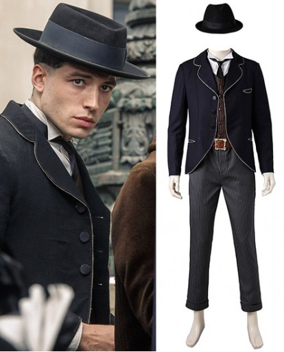 Credence Barebone Fantastic Beasts and Where to Find Them Cosplay Costume