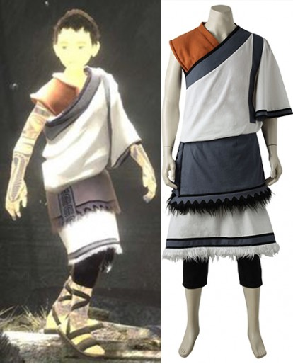 Little Monk The Last Guardian Cosplay Costume