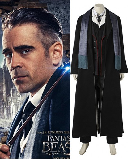 Percival Graves Fantastic Beasts and Where to Find Them Cosplay Costume