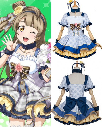 New Minami Kotori Love Live Flower Bouquet Idolized Cosplay Costume