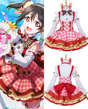 New Yazawa Niko Love Live Flower Bouquet Idolized Cosplay Costume