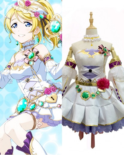 New Ayase Eri Love Live Birthstone Idolized Cosplay Costume