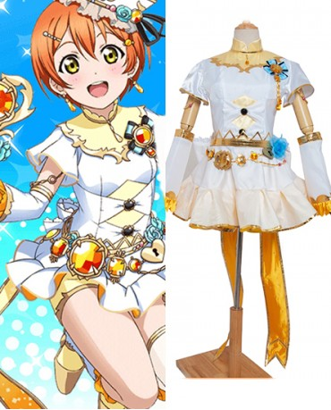 New Hoshizora Rin Love Live Birthstone Idolized Cosplay Costume