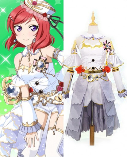 New Nisikino Maki Love Live Birthstone Idolized Cosplay Costume