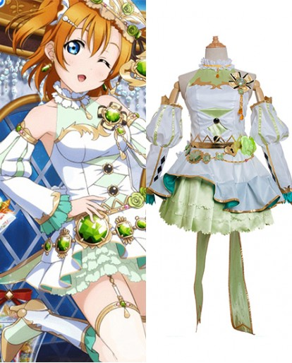 New Kosaka Honoka Love Live Birthstone Idolized Cosplay Costume