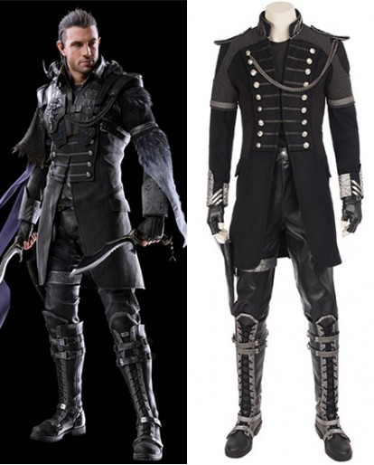Kingsglaive: Final Fantasy XV FF15 Nyx Ulric Cosplay Costume