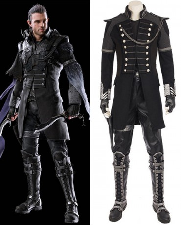 Kingsglaive: Final Fantasy XV FF15 Nyx Ulric Cosplay Costume(Including Boots)