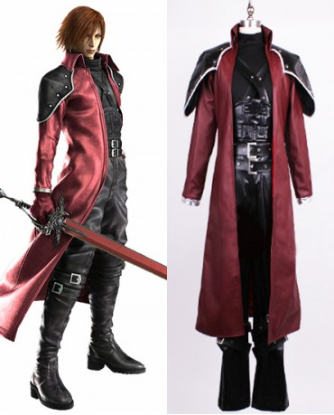 Hot Final Fantasy VII Genesis Rhapsodos Deluxe Cosplay Costume