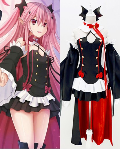 New Seraph of the end Krul Tepes Cosplay Costume