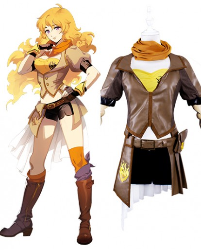 New RWBY Yang Xiao Long Cosplay Costume