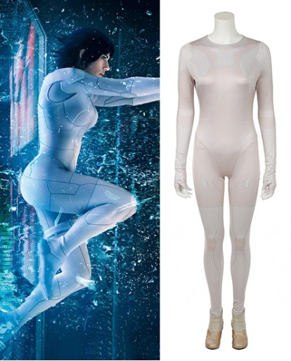New Ghost in the Shell Motoko Kusanagi Cosplay Costume