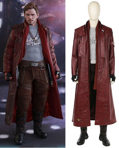 Star Lord Peter Quill Guardians Of The Galaxy Cosplay Costume