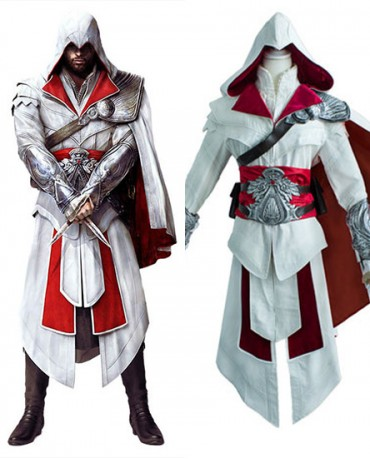 Assassin S Creed Altair Ibn La Ahad Cosplay Costume Full Set For