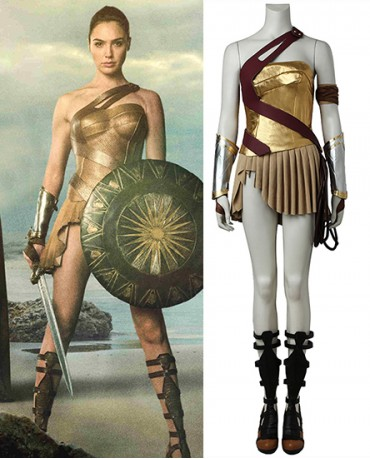 Buy New Wonder Woman Diana Prince Cosplay Costume Fast Shipping