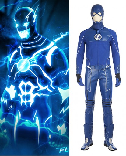 New The Flash Future Barry Allen Cosplay Costume