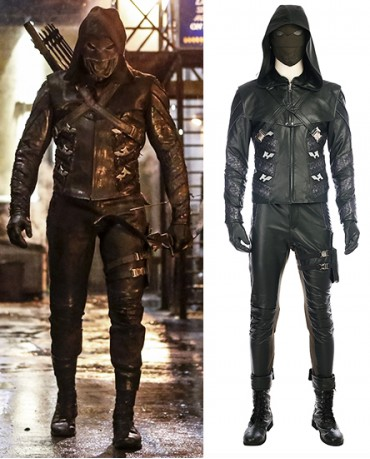Green Arrow Prometheus Oliver Queen Cosplay Costume