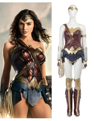 Wonder Woman Diana Prince Classic Cosplay Costume