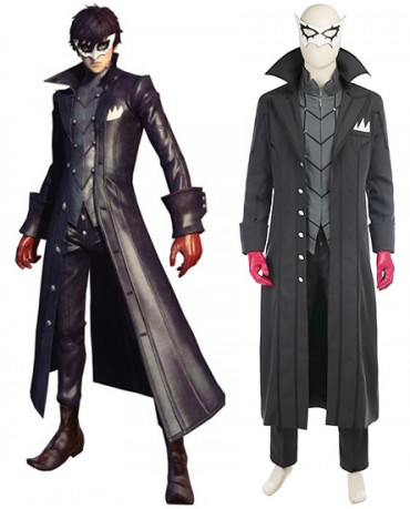 Hot Game Persona 5 Hero Joker Cosplay Costume