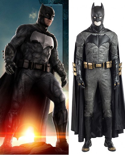 Batman DC Comic Bruce Wayne Cosplay Halloween Costume