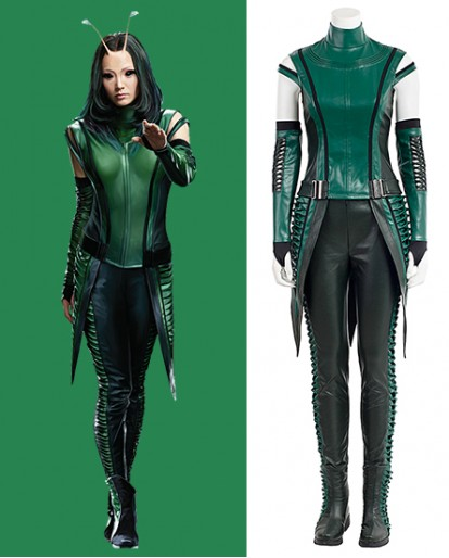 Mantis Guardians of the Galaxy Vol. 2 Green Cosplay Costume for Both Adult And Child