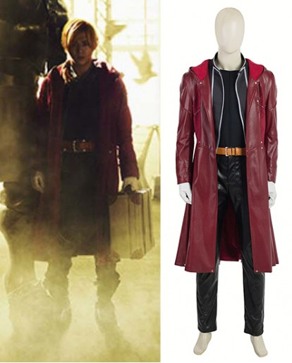 Edward Elric Fullmetal Alchemist Cosplay Costume for Both Adult And Child