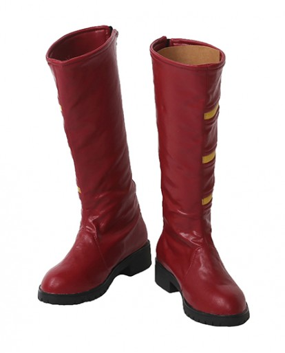 The Flash Jesse Quick Season 3 Cosplay Boots