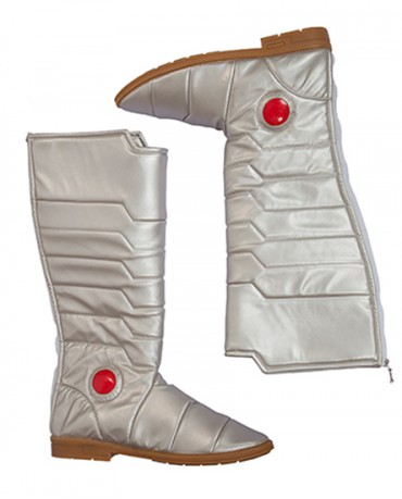 Justice League Cyborg Victor Stone Cosplay Boots