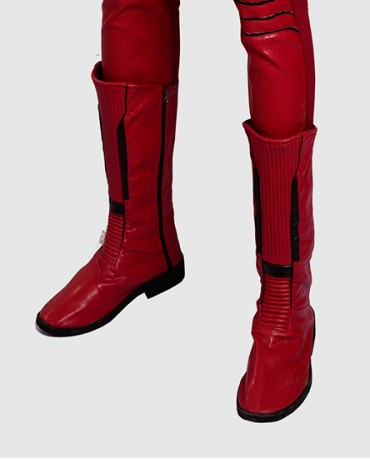 The Flash Wally West Season 3 Cosplay Boots