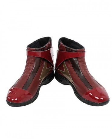 Justice League Flash Barry Allen Cosplay Boots