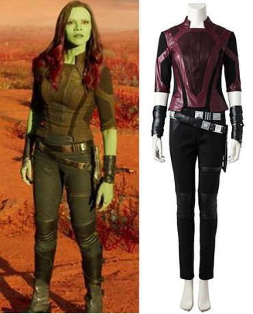 Gamora Guardian of the Galaxy Cosplay Costume