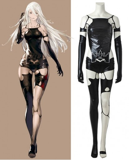 NieR Automata YoRHa Type A No. 2 Cosplay Costume