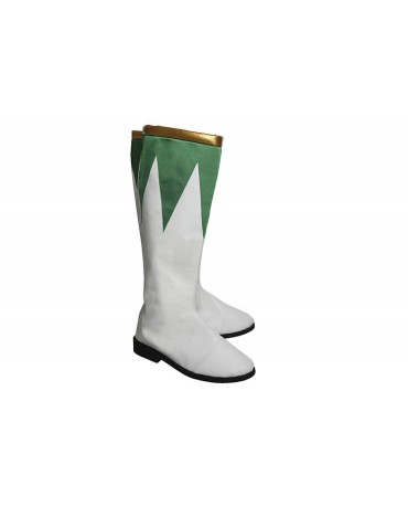 Power Rangers Burai Dragon Ranger Cosplay Boots