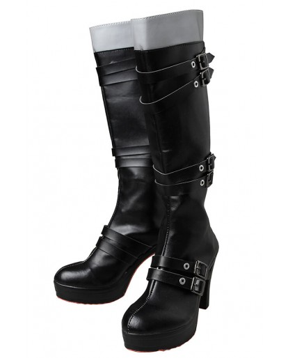 Final Fantasy XV FF 15 Iris Amicitia Dress Outfit Cosplay Boots