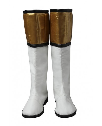 Mighty Morphin' Power Rangers Tommy Oliver White Ranger Cosplay Boots