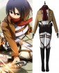 Attack on Titan Mikasa Ackerman Training Corps Cosplay Costume
