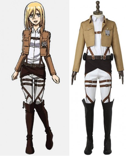 Attack on Titan Marco Bott Training Corps Cosplay Costume
