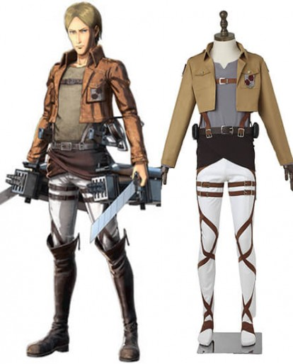 Attack on Titan Stationed Corps Cosplay Costume