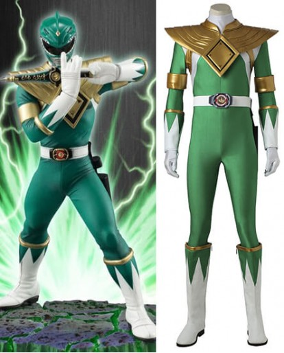 Power Rangers Burai Dragon Ranger Cosplay Costume