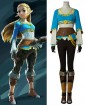 The Legend of Zelda: Breath of the Wild Link Cosplay Costume(short sleeve)